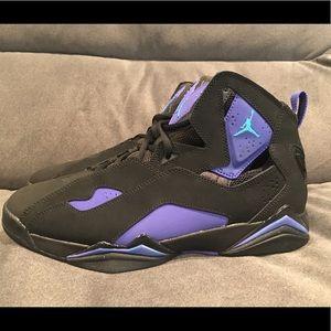 Nike Air Jordan True Flight Black Blue Lagoon 10.5